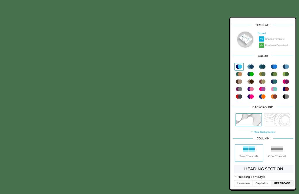 amazing tools in the resume builder online