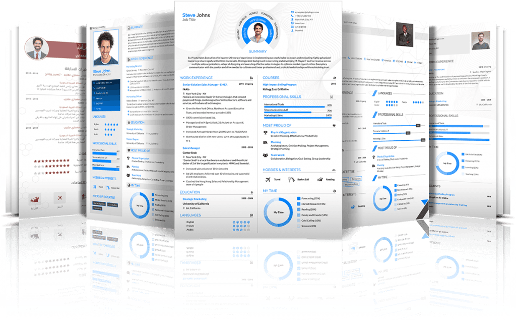 25 Best Online Resume Templates 2020 Stylingcv Download Now